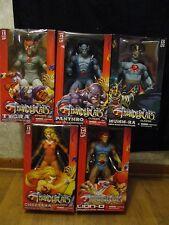 NIB Mezco Classic Thundercats Collection Tygra, Mumm-ra, Lion-o,Cheetara,Panthro