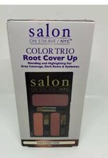 Salon on 5th Ave Color Trio Root Cover Up Brown to Auburn Shades