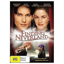 FINDING NEVERLAND-Johnny Depp, Kate Winslet-Region 4-New AND Sealed