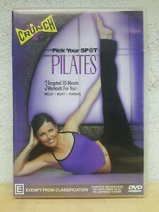 CRUNCH Pick Your Spot Pilates DVD - Rare Australian Release REGION 4