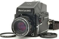 【Near MINT】 Mamiya M645 1000S w/ Sekor C 80mm f/2.8 + AE Prism Finder From JAPAN