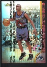 DEE BROWN 1998/99 TOPPS FINEST #153 REFRACTOR RAPTORS SP RARE