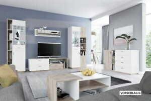 Living Room Set Mr Etna VII Schränk Vitrinenschränk Dresser
