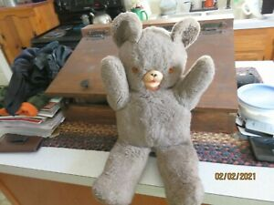 Vintage Brown Teddy Bear 17 Inches
