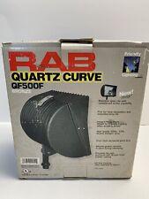RAB Lighting QF500F Quartz Curve Floodlight 500W 120V New In Worn Box