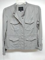 Anthropologie Sanctuary Desert Safari Military Utility Jacket L,M,S. Gray New