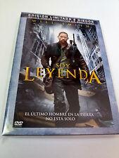 """DVD """"SOY LEYENDA"""" 2DVD EDICION LIMITADA COMO NUEVO WILL SMITH FRANCIS LAWRENCE"""