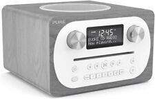 PURE EVOKE C-D4 ALL IN ONE STEREO BLUETOOTH DAB+ RADIO CD PLAYER GREY OAK