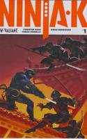 NINJA-K #1 Valiant Comic 2017 COVER B 1ST PRINT