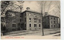 CENTRAL SCHOOL, MIDDLETOWN: Connecticut USA postcard (C7194)