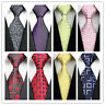 Tie Men Silk Necktie Classic Fashion Wedding Party 8 Colors JACQUARD WOVEN Man