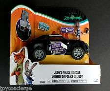 DISNEY Store ZOOTOPIA Judy Hopps POLICE Car CRUISER DELUXE Play Set w/Box NEW