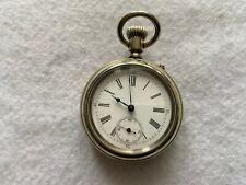 Vintage Pin Set Mechanical Wind Up Pocket Watch - Problem