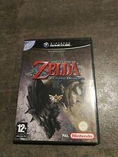 Zelda Twilight Princess PAL ITA triangolo blu GameCube Game Cube