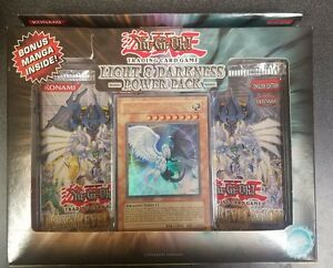 Yugioh Light and Darkness Power Pack 2 Dark revelation 4 packs / 1 promo! L@@K