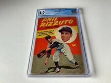 PHIL RIZZUTO BASEBALL HERO NN CGC 6.0 NEW YORK YANKEES MLB FAWCETT COMICS 1951