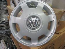 one genuine 1998 1999 Volkswagen Golf Jetta 14 inch hubcap wheel cover