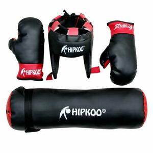 Kid Boxing Kit for Small Girls/Boys Boxing Gloves (Small Boys, Black)
