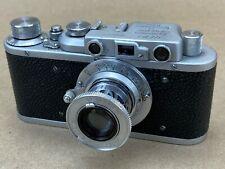 Fed-1 (b) Soviet 1935 Vintage Camera w/ 50mm f/3.5 lens #8074 - Clean & Rare
