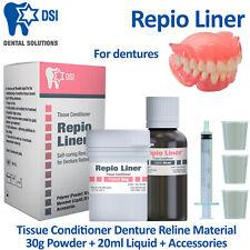 Dental Soft Reline Kit - DIY Denture Temporal Cushioning and Renewing