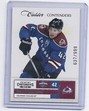 11-12 2011-12 PLAYOFF CONTENDERS BRAD MALONE ROOKIE CALDER /999 #262 AVALANCHE