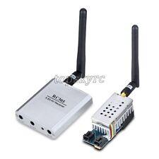 5.8G 2W 2000mW 8Ch Wireless Audio Video AV Transmitter TS582000 & Receiver RC305