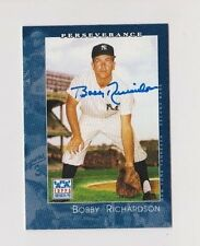 2002 American Pie Bobby Richardson New York Yankees Autographed Baseball Card