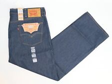 NWT Levis 501 Mens Jeans 44x32 Shrink to Fit Button Fly Original fit XX Denim