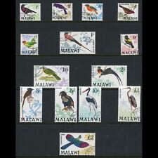 MALAWI 1968 Birds. SG 310-323. Fine Used. (WA317)