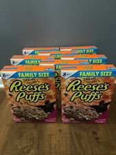 Lot of 8 Travis Scott x General Mills Reese's Puffs Cereal Astroworld -Brand New