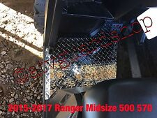 2015--2017 POLARIS RANGER MIDSIZE 570 500 BLACK DIAMOND PLATE FLOOR BOARDS