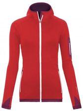 Abbiglimento sportivo da uomo rossi in pile
