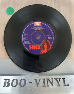 "Marc Bolan And T. Rex – Teenage Dream  7"" Single 45rpm  EMI MARC 7 EX CON"