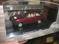 Starline Models 509138 - Autobianchi Y10 1985 rosso amarant - 1:43 Made in China
