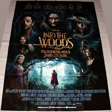 iNTO THE WOODS Meryl Streep James Corden Emily Blunt  LARGE French POSTER