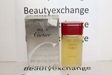 Must II De Cartier Perfume Eau De Toileltte Spray 1.6 oz Boxed