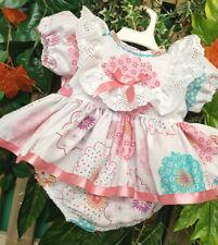 Dream Baby Ragazze Autunno CAMEL FRAGOLE Top e culotte Set o Reborn