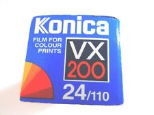 1 x KONICA VX 200 110 Film Expired 1999 Lomography 110 film 24 EXP