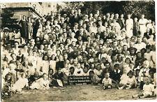Orig. Photo-AK KOLBERG /KOLOBRZEG große Urlauber-Gruppe auch Kinder Sommer 1920