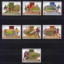 s5703)GUINEA 1982 MNH* W.C. Football 1982-C. M. Calcio 7v.-WINNERS