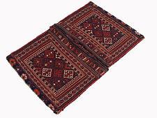 Antico Afghan BALUCH Nomadi Tappeto Borsa Mano intessuti nomadic Rug BAG nr:101