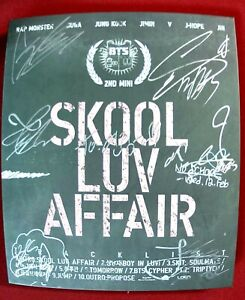 KPOP IDOL BOYS, GIRLS GROUP PROMO ALBUM Autographed ALL MEMBER Signed #210507