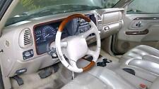 00 Cadillac Escalade Steering Column Assembly with Wheel/Bag/Key/Switches