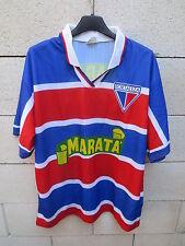 VINTAGE Maillot FORTALEZA Brésil n°10 1999 / 2000 jersey shirt camiseta Brasil M