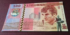 CROATIA  100 Liburna 2016  UNC  PNL   Zadar - Kresimir Cosic /  Lot of 10 pcs