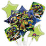 TEENAGE MUTANT NINJA TURTLES BIRTHDAY BALLOONS BOUQUET PARTY SUPPLY FAVORS DECOR