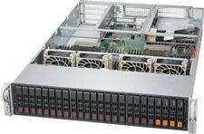 Supermicro 24 Bay FreeNAS Server X10DRU-i+ Xeon E5-2678 v3 24 Core 4x NVMe 256GB