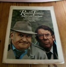 TWO RONNIES RONNIE CORBETT/ BARKER DR WHO MICHAEL BATES JOHN GIELGUD RADIO TIMES