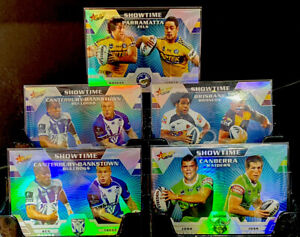 2012 Nrl Traders 5x Showtime Cards In Immaculate Gem Pack Fresh Condition 🔥