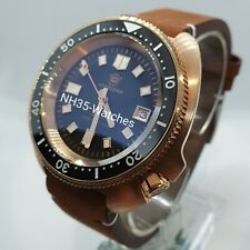 UK BRONZE STEELDIVE SD1970 AUTOMATIC SEIKO NH35, 6105, *FREE STEELDIVE STRAP*